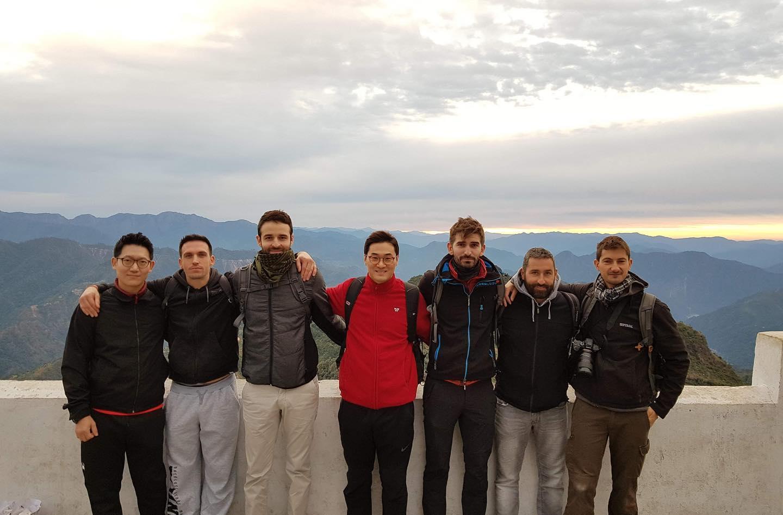 Voyage en Inde avec DK Yoo et l'équipe WCS france